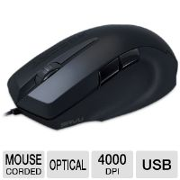 This excellent gaming mouse offers a fully adjustable 4000 dpi sensor for smooth, lag-free gaming with precise controls.