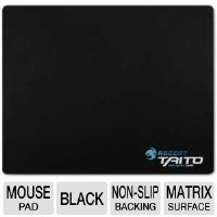 Roccat ROC-13-063 Taito Mini-Size Gaming Mousepad - 5mm, Nano Matrix Surface, Non-Slip Backing, Black
