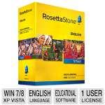 Rosetta Stone Language Learning Software - English (American), Level 1-5 Set (27767)