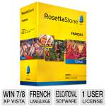 Rosetta Stone Language Learning Software - French, Level 1-5 Set (27788)