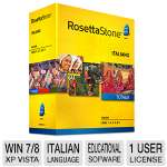 Rosetta Stone Language Learning Software - Italian, Level 1-5 Set (27830)