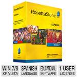 Rosetta Stone Language Learning Software - Spanish (Latin America), Level 1-5 Set (27875)