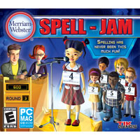 MERRIAM WEBSTER'S SPELL-JAM (MAC)