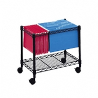 Safco 5205BL / Black / Mobile File Cart
