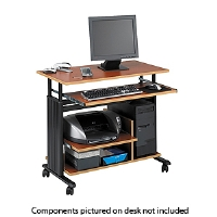 Safco 1927CY Muv mini tower adjustable workstation