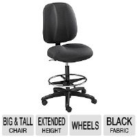 The Safco 7083BL Apprentice II Extended Height Chair can have a supporting role in your comfort throughout your work day.  