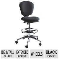 The Safco 3442BL Metro Extended-Height Chair takes style to new heights! 