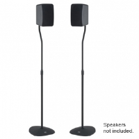 VuePoint HTBS Adjustable Speaker Stands - Black