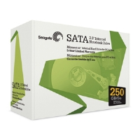 "Seagate 250GB 2.5"" Mobile Hard Drive - 5400, 8MB, SATA, Retail"