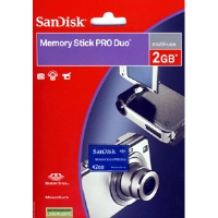 SanDisk 2GB Memory Stick Pro Duo