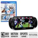 SONY PSV Madden 13 22145 All-in-One Bundle - Motion Sensor, Touchscreen, Built-in Camera (Front & Rear), Built-in WiFi, ERSB E, Sports Game Included