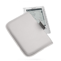 Sony Case Logic PRSACC/W Clutch Case - Compatible For eBook Readers, White