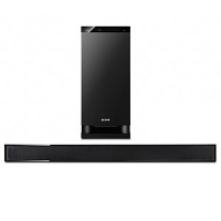 Sony HT-CT150 Sound Bar Home Theater System - 3.1 Channel, 3D Compatibility, HDMI, Digital Media Port, 340 Watts, Remote Control (Refurbished)