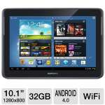 "Samsung Galaxy Note 10.1 Tablet - Android 4.0 Ice Cream Sandwich, Quad-Core 1.4GHz Processor, 10.1"" Touchscreen, 32GB Storage, WiFi, Dual Webcams, Gray (GTN8010GAAR)"