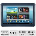 "Android 4.0 Ice Cream Sandwich, Quad-Core 1.4GHz Processor, 10.1"" Touchscreen, 16GB Storage, WiFi, Dual Webcams, S Pen, Grey"