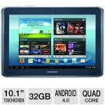 "Samsung Galaxy Note 10.1 GT-N8013EAVXAR Tablet - Android 4.0 Ice Cream Sandwich, Quad-Core 1.4GHz Processor, 10.1"" Touchscreen, 32GB Storage, WiFi, Dual Webcams, S Pen"
