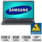 "Samsung Series 9 NP900X4B-A02US Notebook PC - 2nd generation Intel Core i5-2467M 1.6GHz, 8GB DDR3, 128GB SSD, 15"" Display, Windows 7 Home Premium 64-bit"