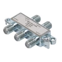 Steren 200-204 4-Way 900MHz F Mini Splitter