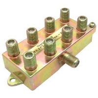 Steren 200-208 Splitter - 8-Way, 900MHz
