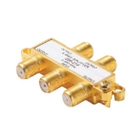 Steren 200-224 4-Way 900MHz F Splitter