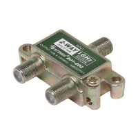 Steren 201-202 2-Way 1GHz 90db F Splitter