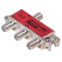 Steren 201-221 3Way Balanced 1GHz 130db F Splitter