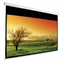 Mustang SC-E106D16:9 106&quot; Diagonal 16:9 Electric Projection Screen - White Case