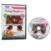 Screen Dreams SDFIRE2 Living Fireplace DVD - HD