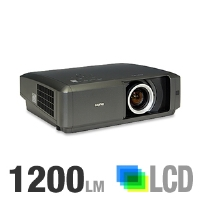 Sanyo PLV-Z60 High Contrast Home Entertainment Projector - 1200 Lumens, 720p, 1280x720, 12-bit Digital Processing