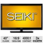 "Seiki 40"" Class LCD HDTV - 1080p, 1920 x 1080, 16:9, 120Hz, 4000:1 Dynamic, 10ms, 3x HDMI, VGA (SC402GS)"