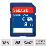 SanDisk Standard SDHC 8GB Flash Card - SDSDB-008G-B35