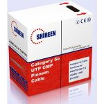 Shireen's Indoor Cat5e UTP Plenum CMP BLUE. 1000' Box  - DC-1050