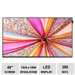 "Samsung 48"" Slim Direct-Lit LED Display - LED, 1920 x 1080 Resolution, 16:9 Aspect Ratio, 5000:1 Contrast Ratio, 8MS Response Time, 350Nits Brightness - DB48E"