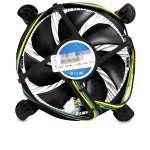 Foxconn CPU Cooler - 120mm, 3100RPM, 4 Pin, LGA1155/1156, Aluminum Heatsink, (I5079-90F11)