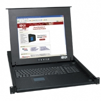 "Tripp Lite B021-000-17 1U Rackmount Console - 17"" LCD, Touch Pad, 1280 x 1024 Video Resolution, 88 Keyboard, Steel Housing"