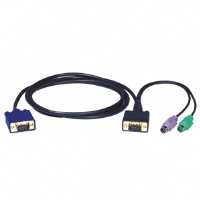 TrippLite 10-Foot PS/2 Slimcable for B004-008 KVM Switch