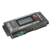 Coolmax PS-228 Power Tester - LCD Display, 6&8 pin PCIE