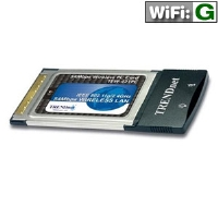 TRENDnet TEW-421PC PCMCIA Wireless Network Adapter - 54Mbps, 802.11g