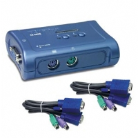 TRENDnet - TK-205K - 2-Port PS/2 KVM Switch
