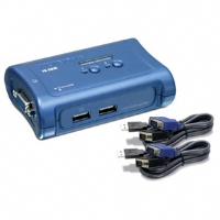 TRENDnet - TK-207K - 2-Port USB KVM Switch with Cables