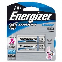 Energizer e2 Lithium AA Batteries - 2 Pack