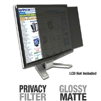 "3M PF20.0W9 Frameless Privacy Filter for 20""   Widescreen Monitors"