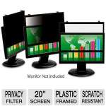 3M Plastic Framed Widescreen Privacy Filter