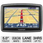 "TomTom XXL 550 Auto GPS - 5.0"" Touch Screen Display, Text To Speech, 7 Million POIs, Lane Guidance, United States/Canada/Mexico Maps (1EP0.019.01)"