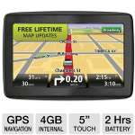 TomTom VIA 1505M RB-1EN5.019.07R GPS Navigation - 5&quot; Touchscreen, 4GB Internal Memory, Lifetime Map Updates, IQ Routes, US / Canada / Mexico Maps