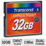 Transcend TS32GCF133 Compact Flash - 32GB