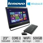 "3rd Gen. Intel Core i3-3220 3.3GHz, 4GB DDR3, 500GB HDD, DVDRW, 23"" Display, Windows 8 Pro 64-bit / Windows 7 Pro 64-bit, Keyboard & Mouse"