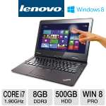"Lenovo ThinkPad Twist S230u 3347-2GU Ultrabook - 3rd Gen. Intel Core i7-3517U 1.90GHz, 8GB DDR3, 500GB HDD, 24GB SSD, 12.5"" Touchscreen, Windows 8 Pro 64-bit"