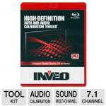 Calibrate your TV and home theater with the Inveo High-Definition 3DTV and Audio Calibration Toolkit.