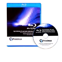 Proximus TECHBDTV High Definition TV and Audio Calibration Toolkit - Blu-Ray Disk